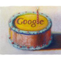 Google bakes its own cake for 12th birthday doodle