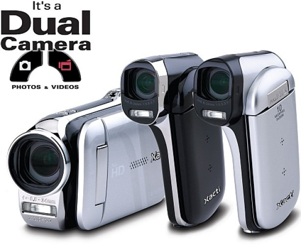 Sanyo's  Xacti HD Camcorders with 14 MP and 2 TB storage capacity