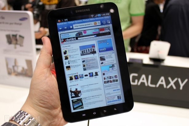 Samsung Galaxy Tab spotted by Brandbull