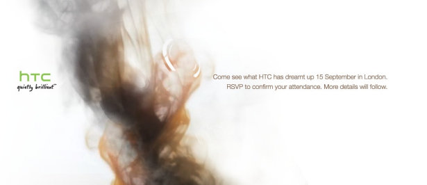 HTC mystery event on 15 September, new HTC devices inbound?