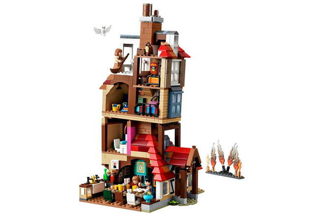 New Harry Potter Lego Sets Hedwig Weasley House And More