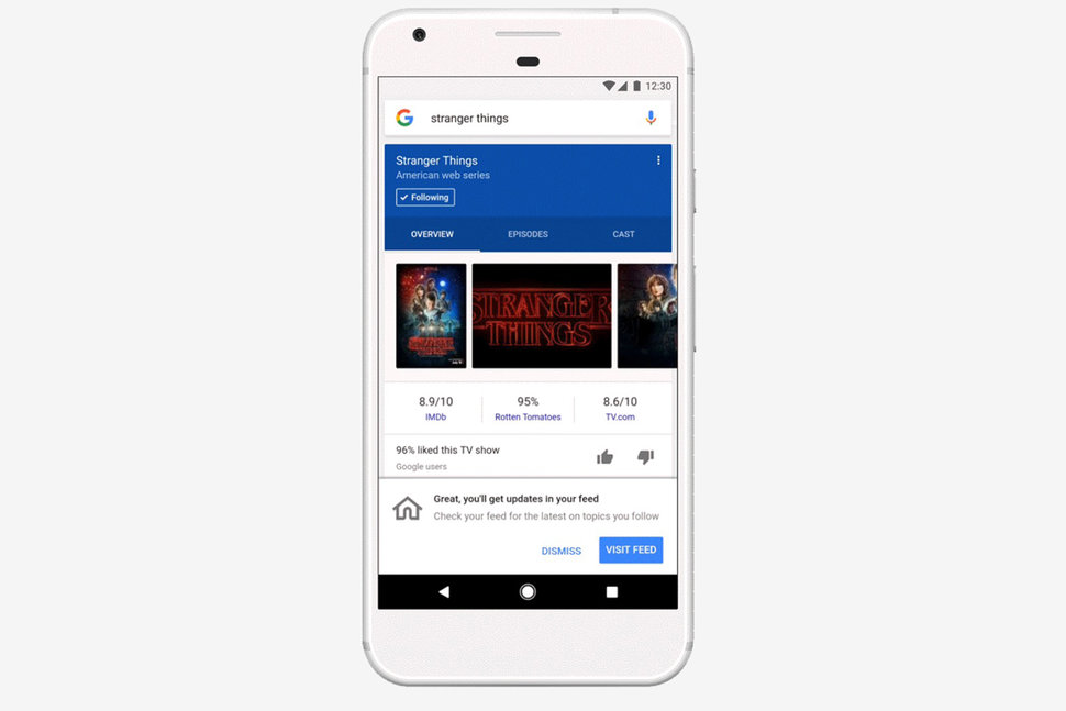 Here's what is different in the Google app's new feed experienc