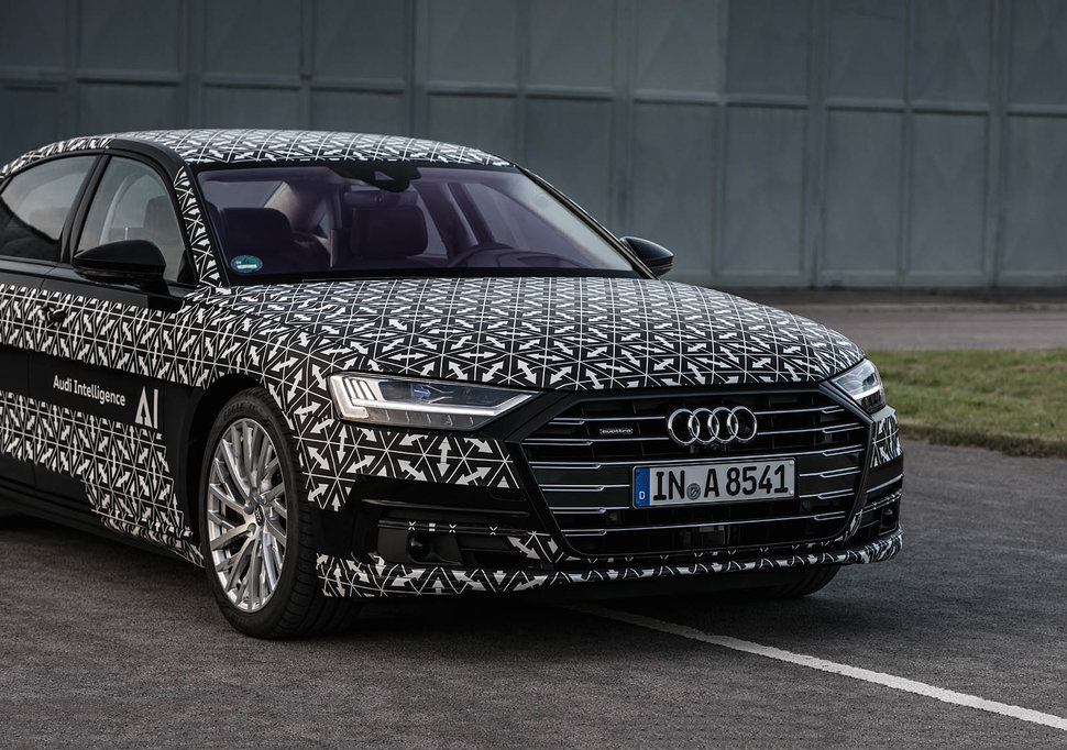 Audi a8 with ai how audi traffic jam pilot autonomous driving audi a8 ai traffic jam pilot details image 1 sciox Image collections