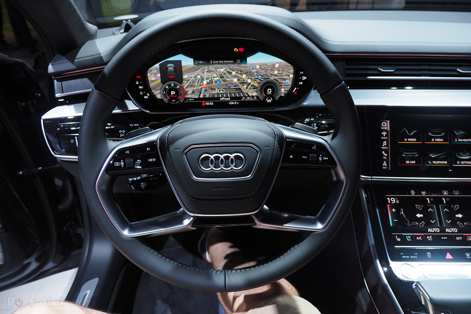 Audi A8 Interior >> Audi A8 2017 Review The Most Tech Packed Car To Ever Hit The Road