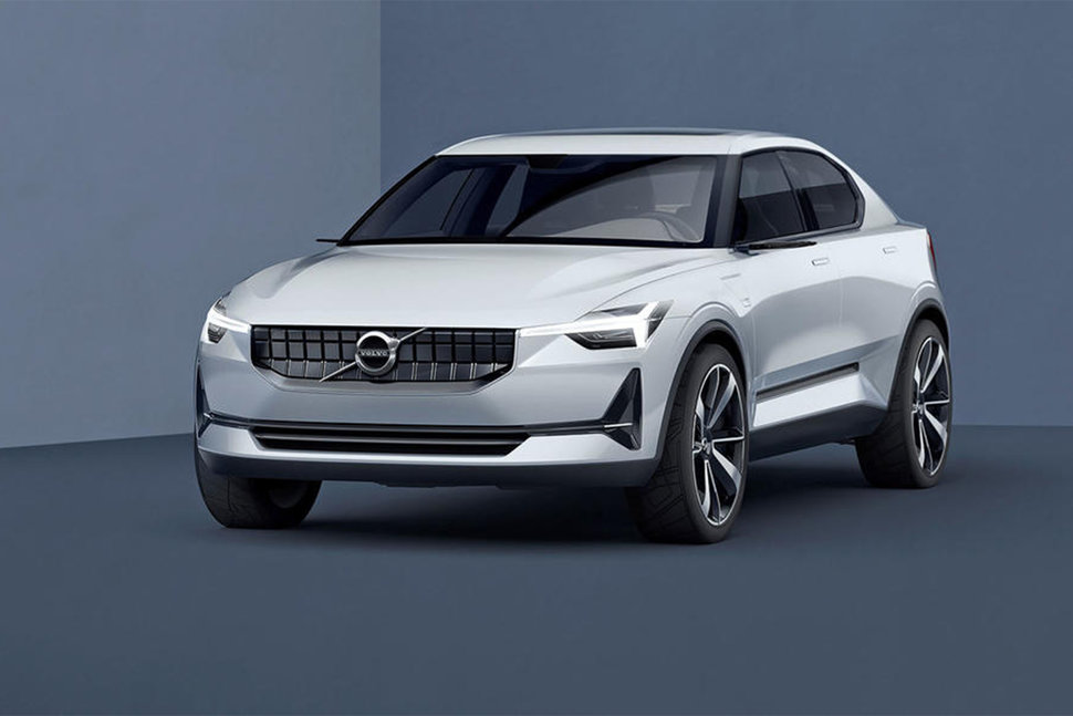 Volvo concept electric car image 1