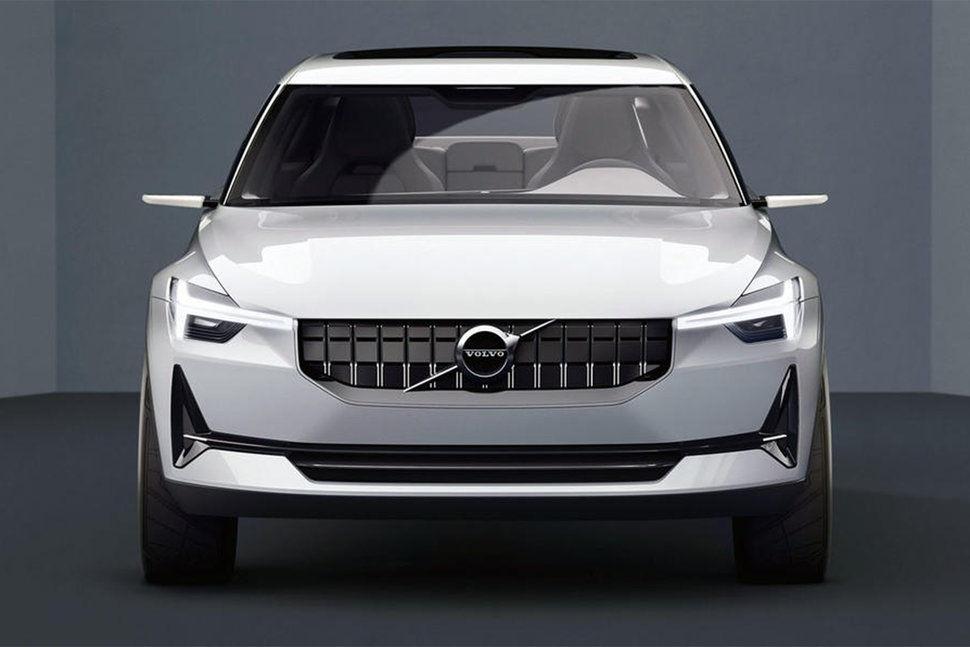 Volvo concept electric car image 2