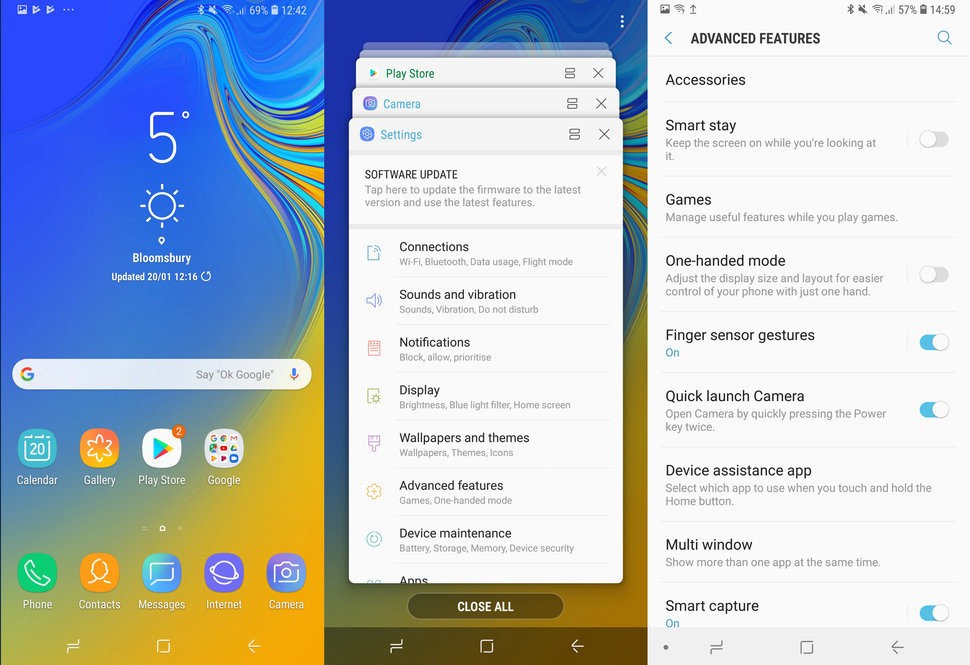 Samsung Galaxy A7 review software image 1
