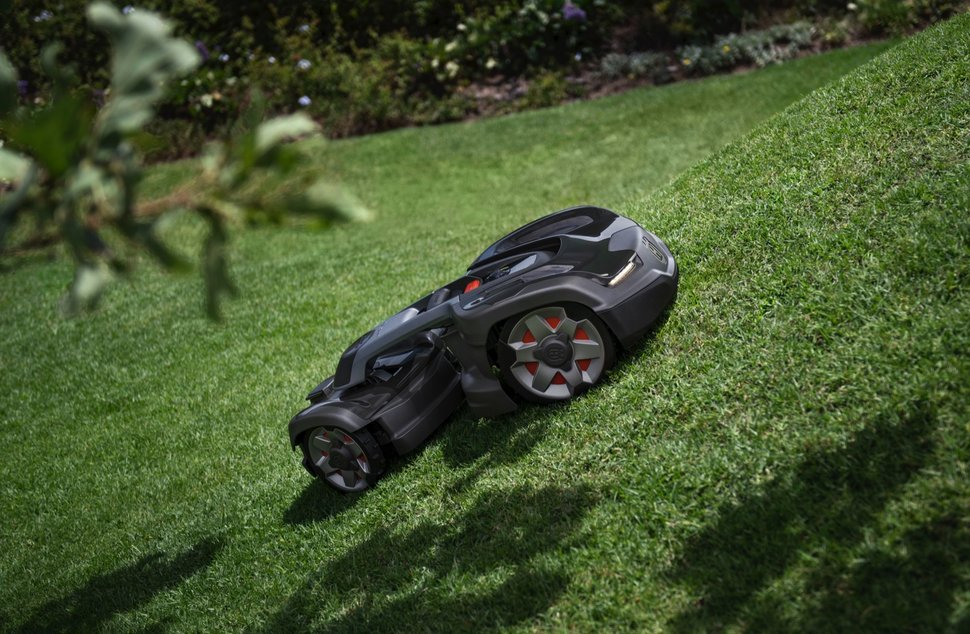 Husqvarna launches Alexa-enabled robotic mower with AWD