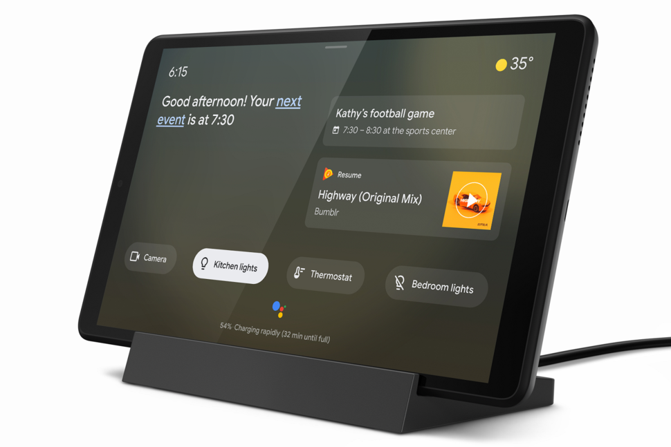 New Lenovo tablets that double as smart home displays coming so
